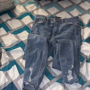 Hollister tipped jeans